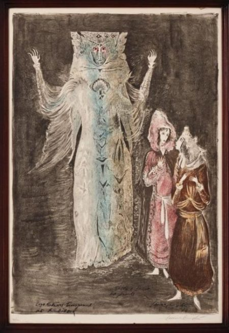 Leonora Carrington-Leye Returns Transformed Into The Dybbuk (1974)-1974