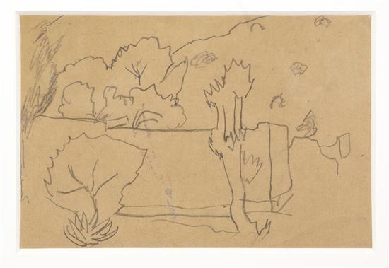 Diego Rivera-Paisaje-