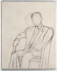 Diego Rivera-Boceto para el retrato del Poeta Lalane-1936