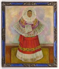 Diego Rivera-Tehuana (Aurea Procel vestida de Tehuana)-1929