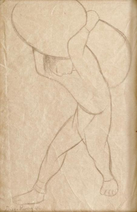 Diego Rivera-Cargador-1946