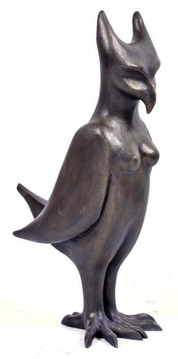 Leonora Carrington-Owl-