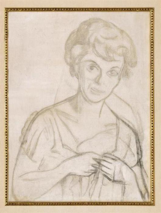 Diego Rivera-Retrato de Pita Amor-