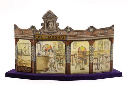 Diego Rivera-Cafe Shangai, de El Cuadrante de la Soledad-1950