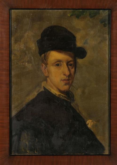 Diego Rivera-Retrato (estudio a partir de Diego Velazquez)-1907