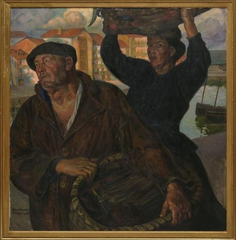 Diego Rivera-La parte de Pedro-1907