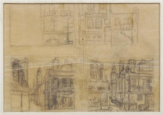 Diego Rivera-Cuadrante de la soledad de Jose Revueltas-