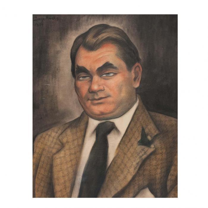Diego Rivera-Retrato de Oskar Homolka-1939