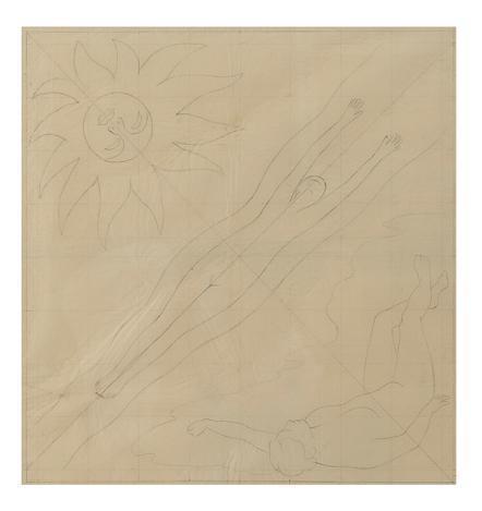 Diego Rivera-Boceto para la boveda en Sn Francisco Stock Exchange Tower-
