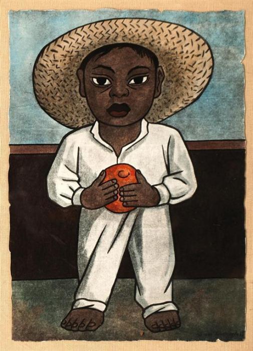Diego Rivera-Vendedora de flores-