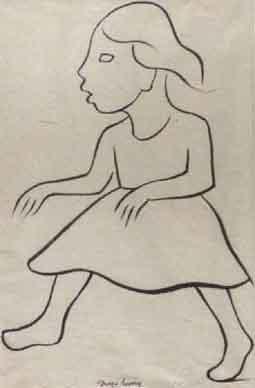 Diego Rivera-Nina (Girl)-