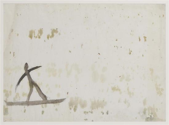 Diego Rivera-Boceto para la caza del pato con fizga-