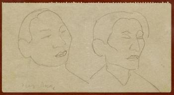 Diego Rivera-Dos rostros-