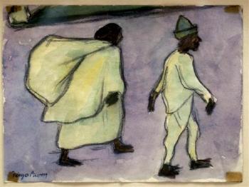 Diego Rivera-Familia de campesinos-