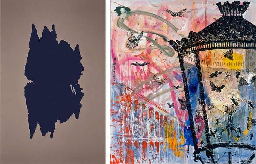 Rosemarie Trockel - Untitled, 1991, Sigmar Polke - Ohne Titel (Auf Max Ernst bezogen), 1981