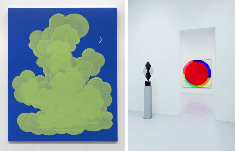 Hugo Pernet - Nocturne, 2016, Heinz Mack, Exhibition view at Galleria Gentili, Florence