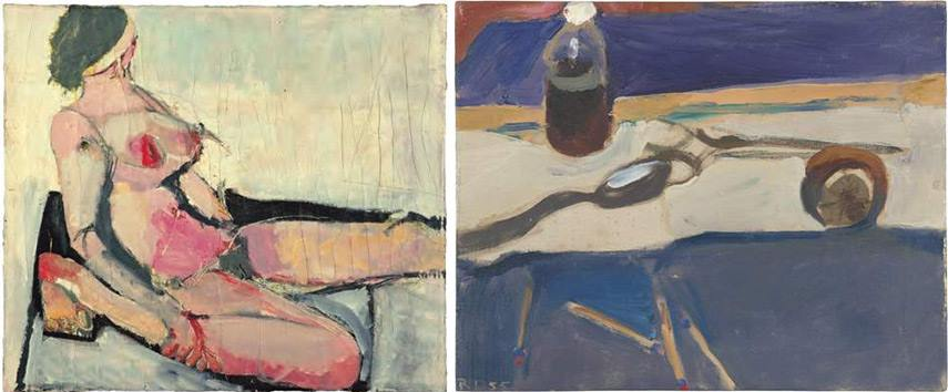 In 1966, the artist moved to berkeley where he started working on his lyrical abstraction