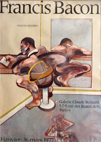 Francis Bacon-Exhibition poster-