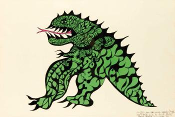 Niki de Saint Phalle-Tu es mon Dragon, (Dragon)-1970