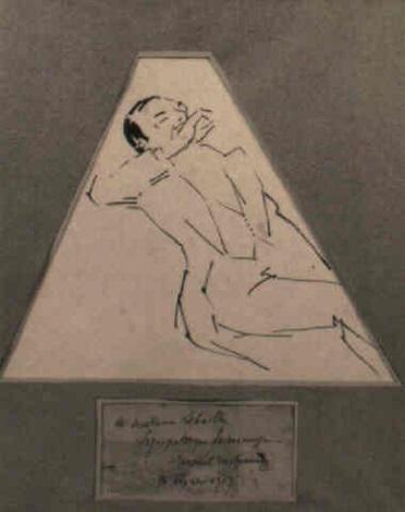 Marcel Duchamp-Buveur-1913