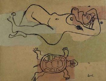 Le Corbusier-Femme et tortue-