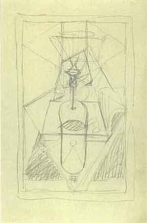 Le Corbusier-Composition puriste-1928