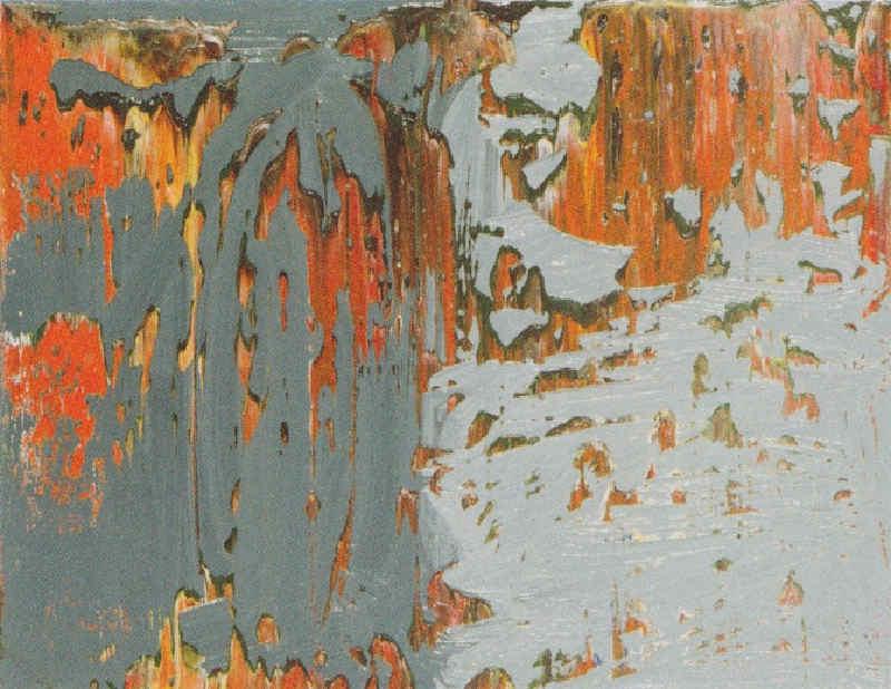 Gerhard Richter-Abstraktes Bild 686-4 (Abstract Painting 686-4)-1988