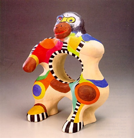 Niki de Saint Phalle-Gorilla-