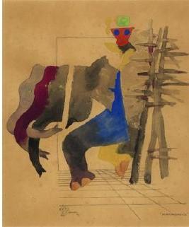 Maqbool Fida Husain-Performance-1978