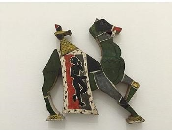 Maqbool Fida Husain-Camel-