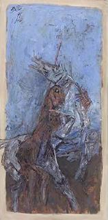 Maqbool Fida Husain-Untitled-1966