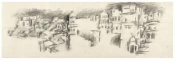 Maqbool Fida Husain-Landscapes-1960