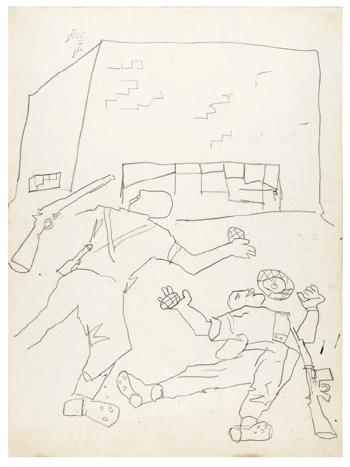 Maqbool Fida Husain-Works After the 1965 War-1965