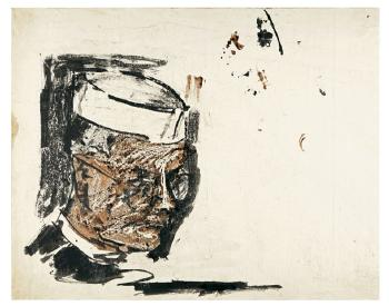 Maqbool Fida Husain-A Group of Three Portraits-1960