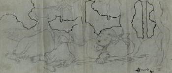 Maqbool Fida Husain-Untitled-1941