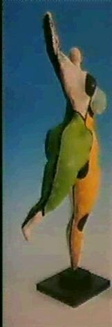 Niki de Saint Phalle-Danseuse-1966
