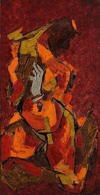 Maqbool Fida Husain-Untitled-1970