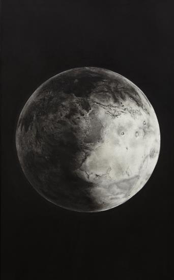 Robert Longo-Untitled (Mars)-2005