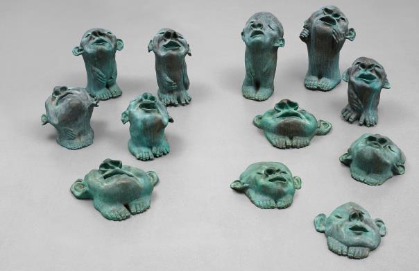 Fang Lijun-Nature Group-2005