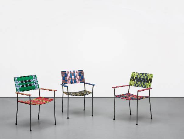 Franz West-Three works: Ohnkel Stuhl (Uncle Chair)-2008