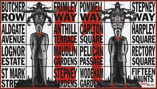 Gilbert and George-Fifteen Haunts-2003