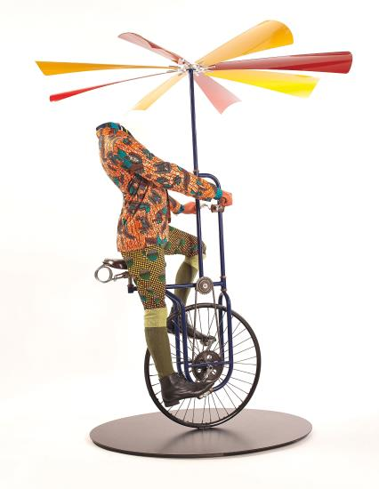 Yinka Shonibare-Man on Flying Machine-2008
