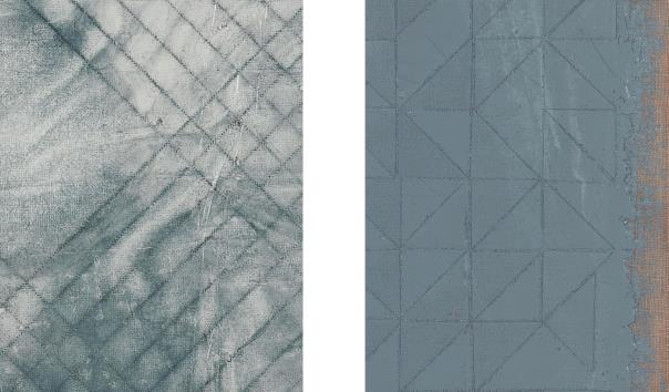 Mark Hagen-Two works: (i) Untitled (H); (ii) Untitled (G)-2013
