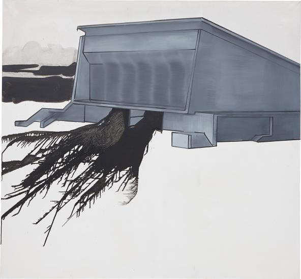 Wilhelm Sasnal-Untitled (Kielce)-2003