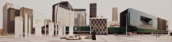 Andreas Gursky-La Defense, Panorama-1987