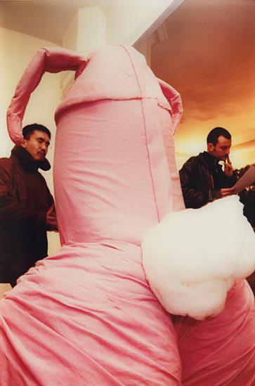 Maurizio Cattelan-Errotin le vrai lapin-1995