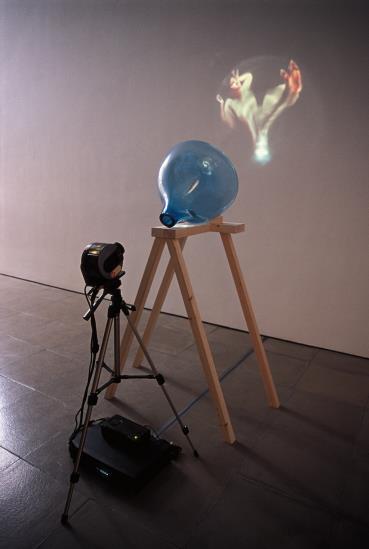 Tony Oursler-Blue Transmission-2000