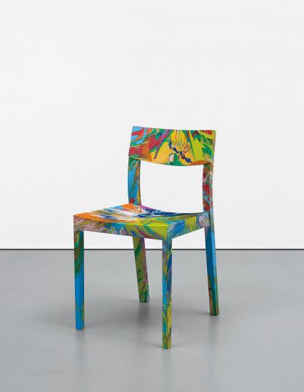 Damien Hirst-Spinning Chair-2012