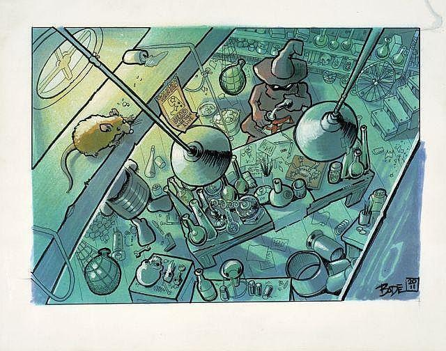 Mark Bode-The Arch Warlocks' Lab (From The Book Of Me)-2011