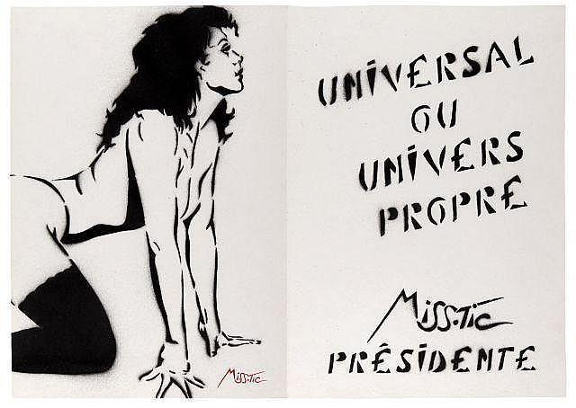 Miss.Tic-Universal Ou Univers Propre, Miss Tic Presidente-2002